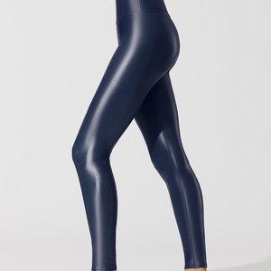 Carbon 38 Shine Leggings INDIGO 7/8 High Rise XS